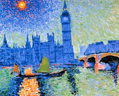 View Big Ben (Circa After André Derain; Access more artwork lots and estimated & realized auction prices on MutualArt. Seascape Paintings, Cool Paintings, Henri Matisse, Big Ben, André Derain, Art Cart, Expositions, Famous Art, Global Art