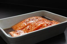 Teriyaki Salmon - Fish come from the sky Chicken Teriyaki Recipe, Teriyaki Salmon, Homemade Teriyaki Sauce, Chicken Recipes, Salmon Recipes, Seafood Recipes, Salmon Fillets, Fresh Ginger, Kitchens