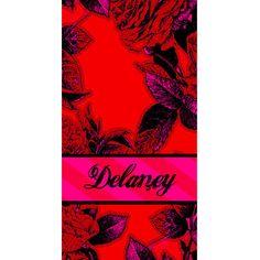 Beach Towel - Style #52103 Eleanor Print