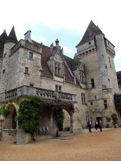 Chateau Milandes, Dordogne, France