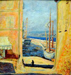Pierre Bonnard - View of the Old Port - Saint Tropez 1911 at New York Metropolitan Art Museum