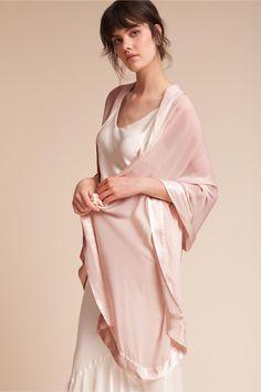 64db5e9817 This satin shawl isn t just glamorous- it s incredibly versatile.