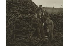 Bruce Rae, Apprentices - Swanhunters, 1984. © Bruce Rae. http://artdaily.com/news/98539/Lucy-Bell-Gallery-opens-exhibition-of-photographs-by-Bruce-Rae#.WaukGshJbcs