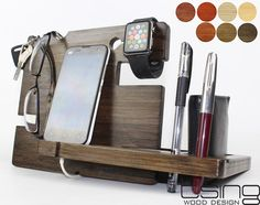 BEST Gift--Docking station, Charging Station For iPhone 5, iPhone 6, Mobile, Wallet, Pencils,