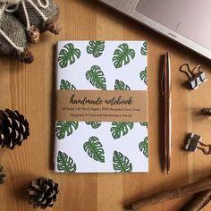Monstera Notebook - Green