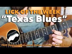 Texas Blues Guitar Lesson - Dream Licks Made Easy - YouTube