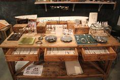 Jewelry display (Aesthetic Movement showroom)