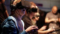 Virtual reality, Virtual reality headset and Headset on ...