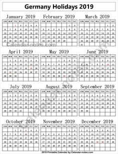 49 Best Holidays Calendar 2019 Images
