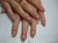 Sweet and Subtle Party Nail Designs