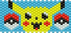 pikachu2 bead pattern