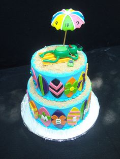 Beach/Surf Cake