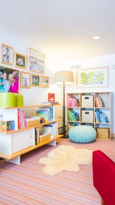 Looking for Other Space and Playroom ideas? Browse Other Space and Playroom images for decor, layout, furniture, and storage inspiration from HGTV. Small Playroom, Playroom Design, Playroom Decor, Small Rooms, Playroom Ideas, Kids Decor, Family Room Design, Kids Room Design, Kid Spaces