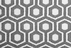 Hexagon House II Wool Rug, Gray on OneKingsLane.com