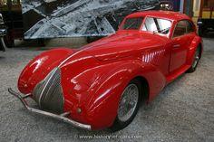 1936 Alfa Romeo 8C 2900A Berlinetta