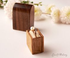 A pretty box to hold your ring until you say your vows.