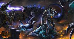 The Television Crossover Universe: ゴジラ Gojira Godzilla