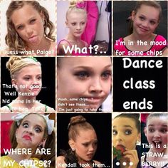 comics of dance moms | Kendall gonna get in some trouble and then Maddie because Mackenzie ...