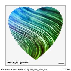 Wall decal in fresh Photo style : Green