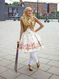 Keep kawaii and put your hijab: My Lolita Coordinate