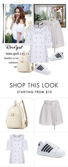 """Rosegal date outfit"" by fashion-all-around ❤ liked on Polyvore featuring CHUP"