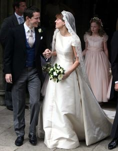 British and Greek Royals Attend British Society Wedding – Royal Hats Famous Wedding Dresses, Royal Wedding Gowns, Royal Weddings, Bridal Gowns, Royal Princess, Prince And Princess, Adele, Royal Brides, Lace Veils