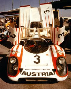 """Feb 1st 1970 PORSCHE 917 - 24 HR DAYTONA  Kurt Ahrens shared this car with """"Quick Vic"""" Elford but abandonned shortly before half distance."""