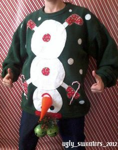 Haha...awesome ugly sweater!!!