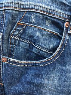 Denim Man, Denim Jeans Men, Product Development, Jeans Style, Coins, Kids Fashion, Pocket, Detail, Blue