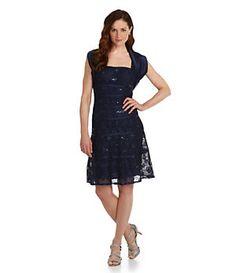 J.R. Nites 2-Piece Lace Jacket Dress   Dillard's Mobile