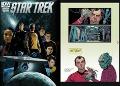 IDW's Star Trek #1 Gets The Motion Book Treatment