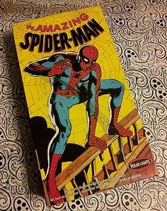 Spider Man Model Kit White Molded Polar Lights Marvel Comics CIB Amazing   eBay