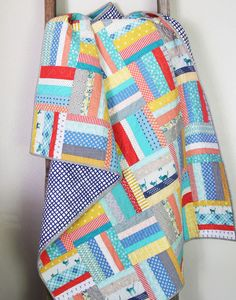 Scrappy Strips Quilt
