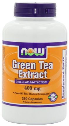 Now Foods Green Tea Extract 400 mg, 250 Gelatin Capsules (60% Polyphenols, 40% Catechins, 16mg Caffeine) - http://bhealthydiet.com/now-foods-green-tea-extract-400-mg-250-gelatin-capsules-60-polyphenols-40-catechins-16mg-caffeine/