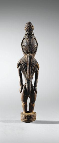 Statuette, Bas Ramu, Papouasie Nouvelle-Guinée