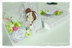 Communion card / Card in a box / Kartka komunijna / Kartka w pudełku / Cardmaking / Scrapbooking / Crafting / Handmade Graphics Fairy, Card Card, Communion, Homemaking, Washi, Cardmaking, December, Crafting, Scrapbooking