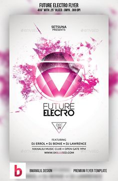 Galaxy Electro Flyer  Flyers By And Galaxies