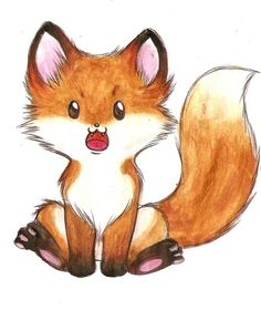 Little fox II by Liedeke.deviantart.com on @deviantART