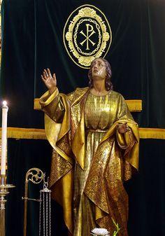 San Juan Evangelista (Cofradia de las Siete Palabras y San Juan, Zaragoza).