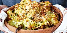 The Best Cauliflower & Broccoli Cheese