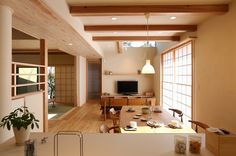 Asian Home Decor, truly scintillating note, read the pin Traditional Japanese House, Japanese Interior Design, Japanese Home Decor, Asian Home Decor, Home Interior Design, Japanese Apartment, Asian House, Architecture Design, Home And Deco