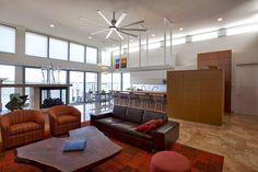 For home residential ceiling fans big ass fans modern home isis big ass fans 26 height w 1 tube mozeypictures Image collections