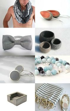 Gray for Spring by greek mythos on Etsy--Pinned with TreasuryPin.com