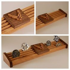 Air Force Coin Holder by WoodSimplyMade on Etsy, $44.99