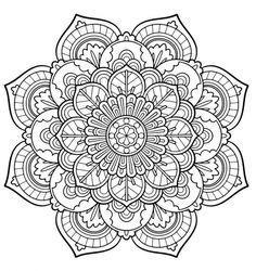 You can also color online your Mandala Vintage worksheet Do you like Adult Coloring Pages? You can print out this Mandala . Adult Coloring Book Pages, Printable Adult Coloring Pages, Mandala Coloring Pages, Free Coloring Pages, Coloring Books, Mandala Art, Flower Mandala, Abstract Flowers, Mandala Tattoo