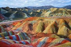 Cina, il parco dai mille colori