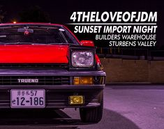 For+The+Love+of+JDM+|+Sunset+Import+Night