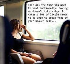 It Takes a Lot of Little Steps to Break Free