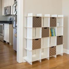 Modern 16 Cubby Storage Shelves | Sprout
