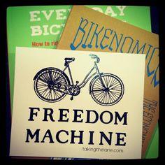 Twitter: Sweet sticker from @Ellie Sherlock Blue. ...  #bicycles